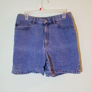 Lauren Jeans Co. Ralph Lauren Blue Jeans Shorts